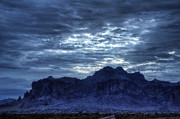 The Superstitions Prints - By Dawns Early Light  Print by Saija  Lehtonen
