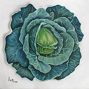 Cabbage Prints - Cabbage Print by Ilse Kleyn