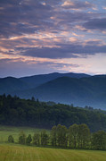 Hyatt Prints - Cades Cove Morning Print by Andrew Soundarajan