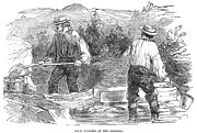 Forty Niner Prints - California Gold Rush, 1849 Print by Granger