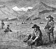California Gold Rush Print by Granger