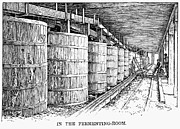 Ferment Photos - California: Winery, 1889 by Granger