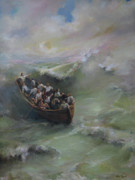 Sermon Art - Calming the storm by Tigran Ghulyan