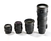 Nikkor Framed Prints - Camera Lenses Framed Print by Johnny Greig