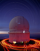 Mauna Kea Photos - Canada-france-hawaii Telescope by David Nunuk
