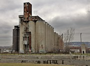 Canal Photo Originals - Canada Malting Plant by Reb Frost