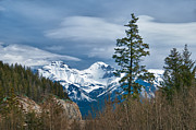 Guy Whiteley Photography Prints - Canadian Rockies 12974 Print by Guy Whiteley