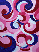 Daneen Rush Prints - Candy Print by Daneen Rush