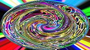 Candy Digital Art - Candy Swirl by Twilight Vision