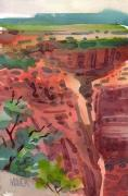 Canyon Painting Originals - Canyon de Chelly by Donald Maier