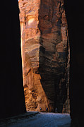 Sandstone Canyons Photos - Canyoneering In Buckskin Gulch, Utah by Bill Hatcher