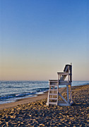 Nauset Beach Framed Prints - Cape Cod Lifeguard Stand Framed Print by John Greim