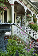 Garden Flowers Photos - Cape May Victorian by John Greim