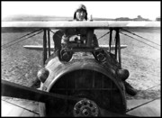Flying Prints - Captain Eddie Rickenbacker  Print by War Is Hell Store