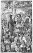 Capture Of Santa Fe, 1846 Print by Granger