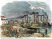 Vicksburg Posters - Capture Of Vicksburg, 1863 Poster by Granger