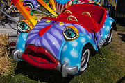 Carrousels Prints - Car ride Print by Garry Gay