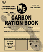 Rations Art - Carbon Rationing, Conceptual Image by Victor De Schwanberg