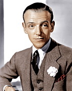 Pocket Square Prints - Carefree, Fred Astaire, 1938 Print by Everett