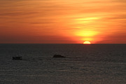 "\""nature Picture\\\"" Pyrography - Caribbean Sunset by Torsten Dietrich"