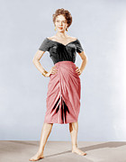 Red Skirt Prints - Carmen Jones, Dorothy Dandridge, 1954 Print by Everett