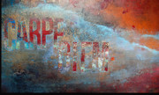 Urban Art Mixed Media Metal Prints - Carpe Diem Wall Art Metal Print by Anahi DeCanio