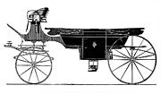 1876 Prints - Carriage: Landau Print by Granger