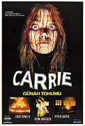 Telekinesis Posters - Carrie, Sissy Spacek, 1976 Poster by Everett