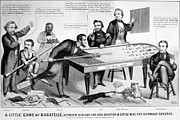 Brinton Photos - Cartoon: Election Of 1864 by Granger