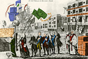 Repeal Prints - Cartoon, Repeal Of The Stamp Act Print by Photo Researchers