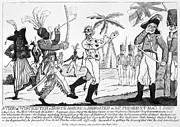 Sword Cartoon Prints - Cartoon: War Of 1812 Print by Granger