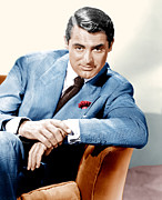 Lapel Framed Prints - Cary Grant, Ca. 1936 Framed Print by Everett