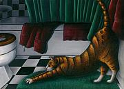 Carol Wilson - Cat Stretching in...