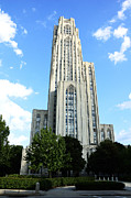 Pittsburgh Framed Prints - Cathedral of Learning Framed Print by Thomas R Fletcher
