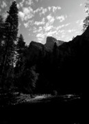 Merced River Prints - Cathedral Rocks  Print by Chris Brewington