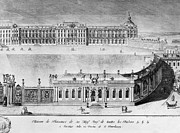 Catherine The Great Prints - Catherine Palace, 1761 Print by Granger