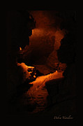 Caves Mixed Media - Cavern And Cave Art by Debra     Vatalaro