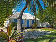 Cayman Islands Cottage Print by James Brooker