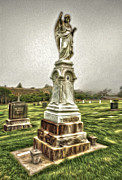 Cayucos Cemetery - 01 Print by Gregory Dyer