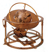Armillary Prints - Celestial Sphere Print by Photo Researchers