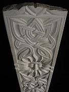 Figurative Reliefs - Celtic sun by Paul Holbrecht