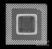 Processor Photo Metal Prints - Central Processor Metal Print by Ted Kinsman