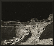 Old And New Posters - Chaco Canyon Poster by Gordon Engebretson