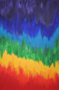 Chakra Paintings - Chakra Flow by Malik Jaffer