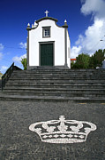 Chapel In The Azores Print by Gaspar Avila