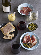 Banquet Prints - Charcuterie Spread Print by James Baigrie