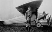Charles Lindbergh 1902-1974 Print by Everett