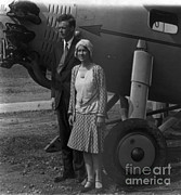 Lindy Prints - Charles Lindbergh, American Aviator Print by Photo Researchers