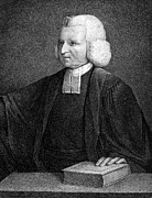 Clergy Photos - Charles Wesley (1707-1788) by Granger