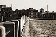 Waterfront Originals - Charleston South Carolina Waterfront Battery by Dustin K Ryan